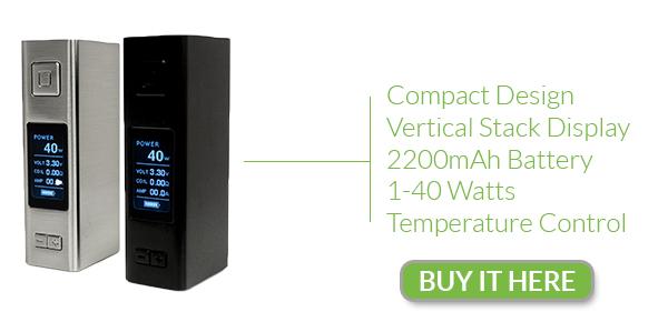 VaporFi VOX 40 TC Features