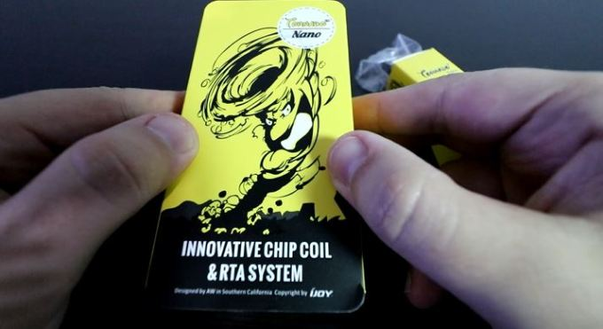 Tornado Nano Packaging