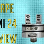 Geek Vape Tsunami 24 RDA Review