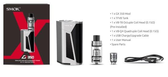 SMOK GX350 Full Kit