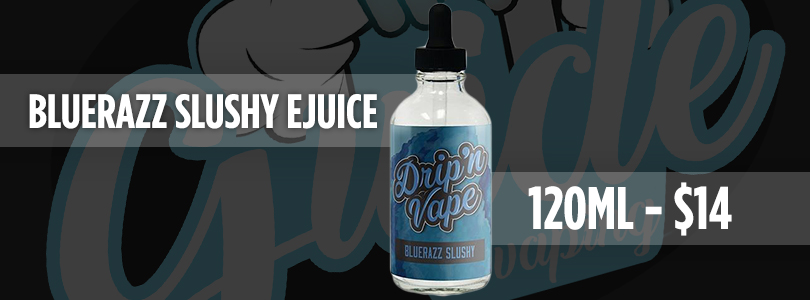bluerazz slushy ejuice deal