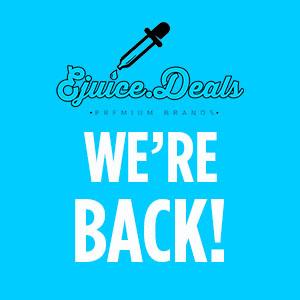 ejuice.deals we're back
