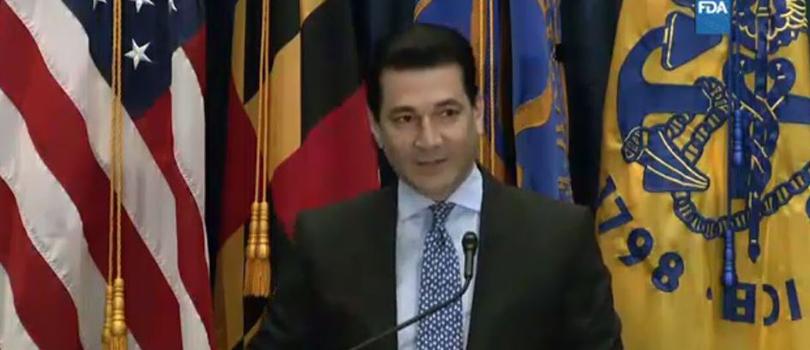 FDA Scott Gottlieb Announcement