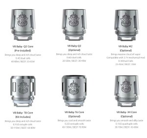 SMOK TFV8 Big Bay Tank Coils