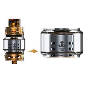 SMOK TFV12 Prince Tank Bulb Glass