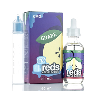 7 Daze Reds Ejuice Iced Grape