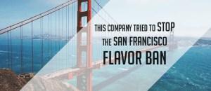 stop flavor ban
