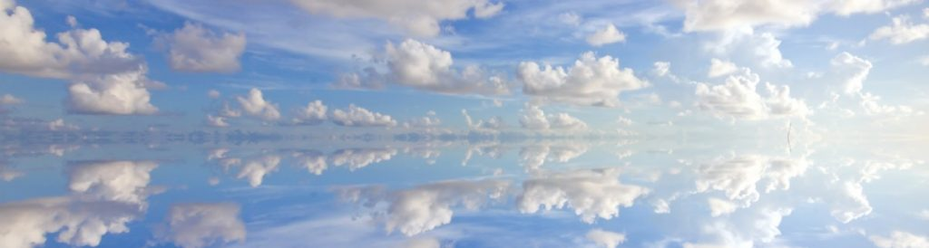 Dreams are like clouds as we refresh and reflect.