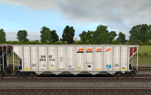 BNSF 652575-653348 FCA Autoflood 3 5-Bay Hopper