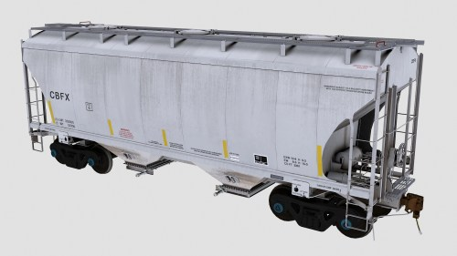 CBFX Trinity 2-Bay Covered Hopper