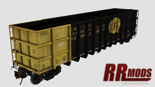 LEFC 4500-4574 Thrall 4000cf Coal Gondola