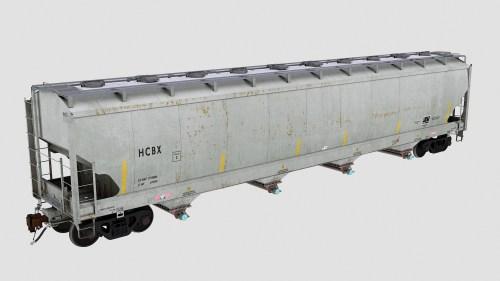 HCBX Trinity 4-Bay Plastics Hopper