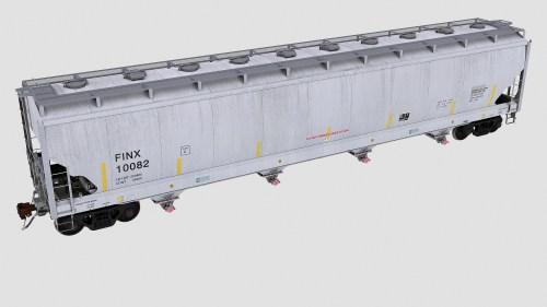 FINX 10001-10850 Trinity 4-bay plastics hopper 6221cf