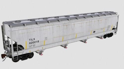 TILX 620000-620224 Trinity 4-bay plastics hopper 6221cf