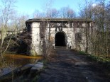 Fort van Brasschaat, ingang