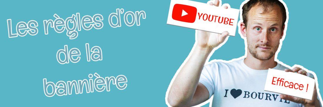 Créer un bandeau youtube la méthode