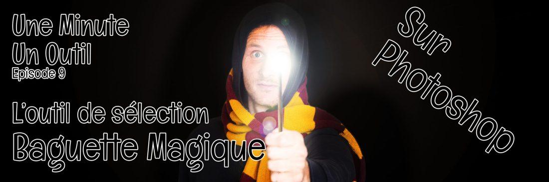 tuto Photoshop outil sélection baguette magique
