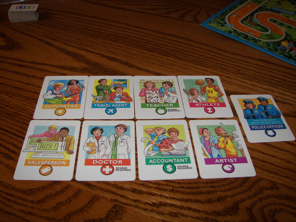 The Game Of Life Careers