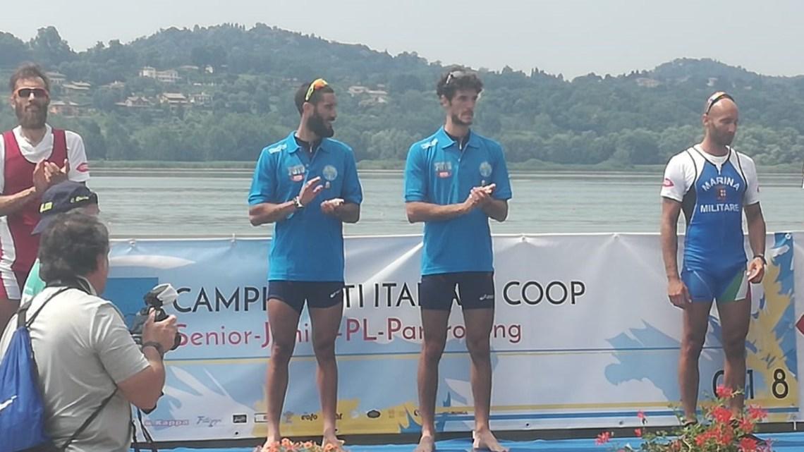 Canoa. Stefano Oppo campione Italiano a Varese nel doppio pesi leggeri