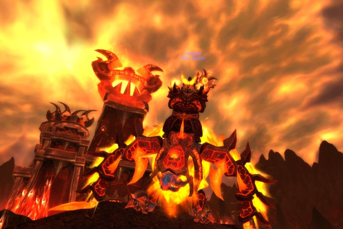 Fire Mage at Firelands