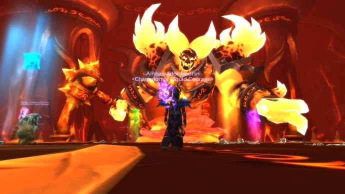 Back in Firelands, I was a Blood Elf
