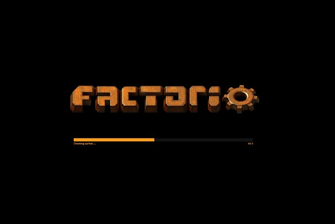 Factorio Loading Screen
