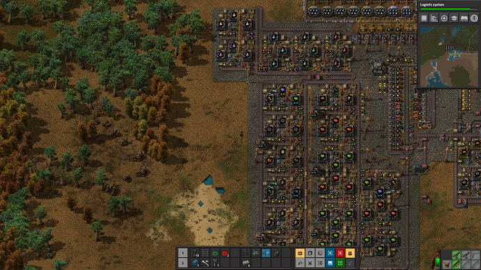 Factorio Manufacturing Clusters