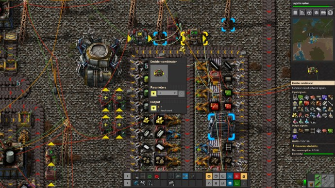 Factorio Circuit Network