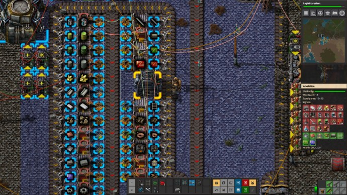 Factorio Inventory Management