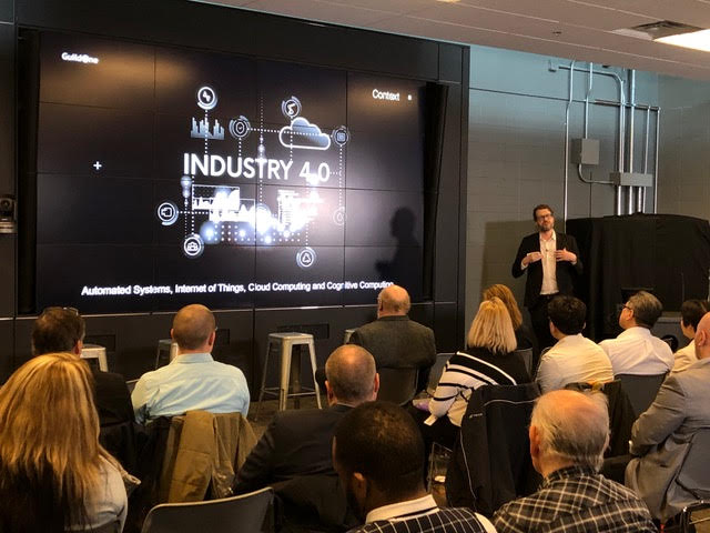 GuildOne's President and CEO, James Graham presents at the ASTech Event; Artificial Intelligence: The Now Game Changer.