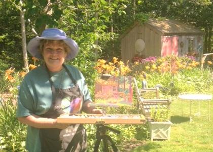 Guild member Barbara Quinn Grasso