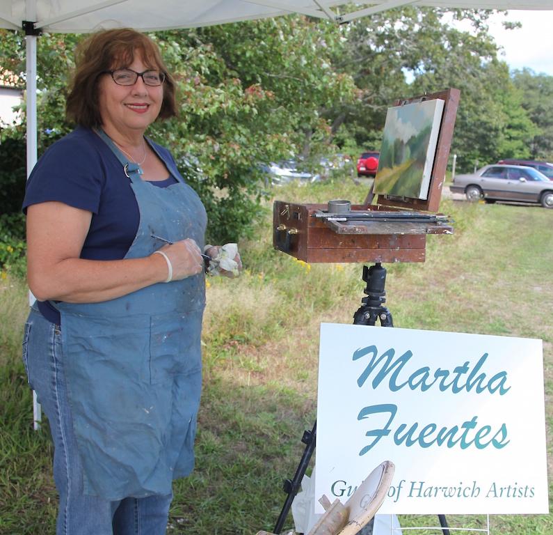 Martha Little Fuentes, 5th Annual Harwich Conservation Trust Wildlands Music & Art Stroll ©Kathleen Magnusson