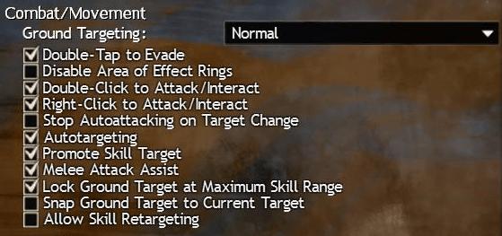 Combat Settings