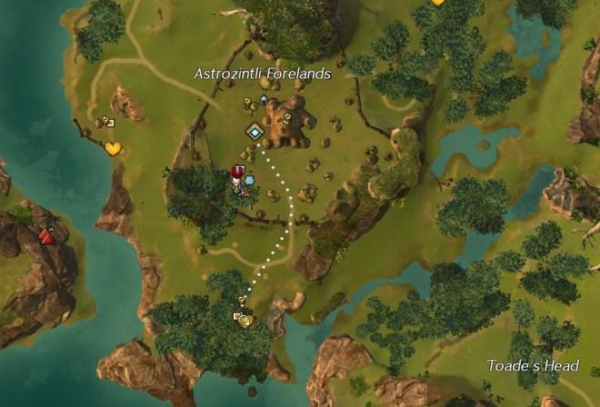Cuadinti Map