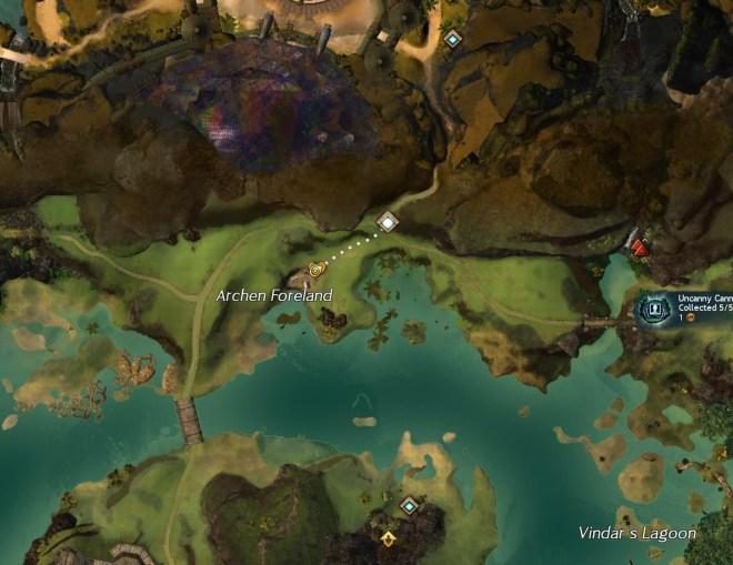 Lionscout Tunnira Map