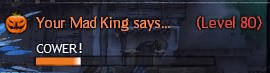 Mad King Says UI