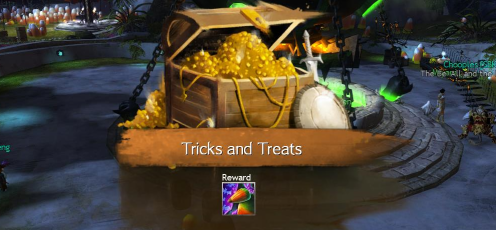 Tricks and Treats Reward