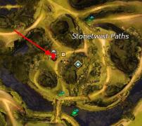 Dive Master Landing Map