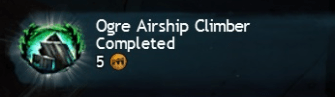 Ogre Airship Climber Completed