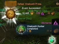 Vinetooth Prime Event Successful