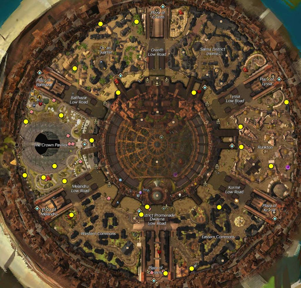 Divinity's Reach Orphan Locations