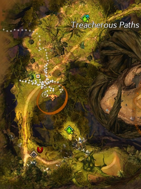 Treasure Mushroom Verdant Brink Map