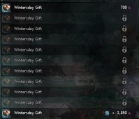 Wintersday Vendor Gifts