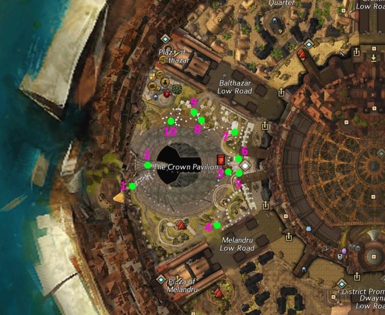 Firecracker Map