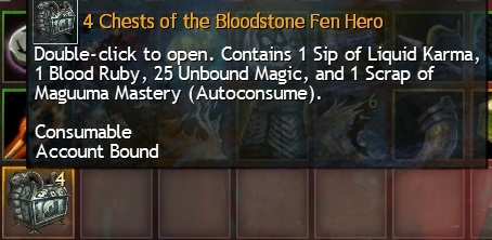 Blodstone Fen Daily Chests