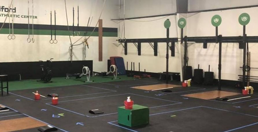 COVID safety clean and open gym