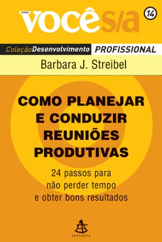 Capa de Livro: Como planejar e conduzir reuniões produtivas