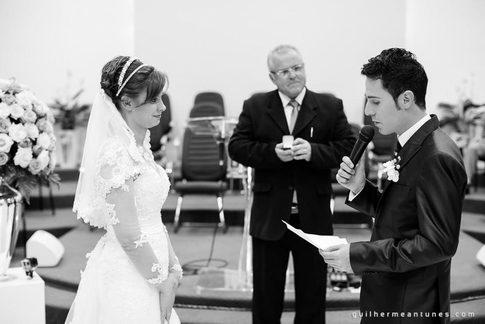 Dicas do Fotógrafo de Casamento Guilherme Antunes (Votos)