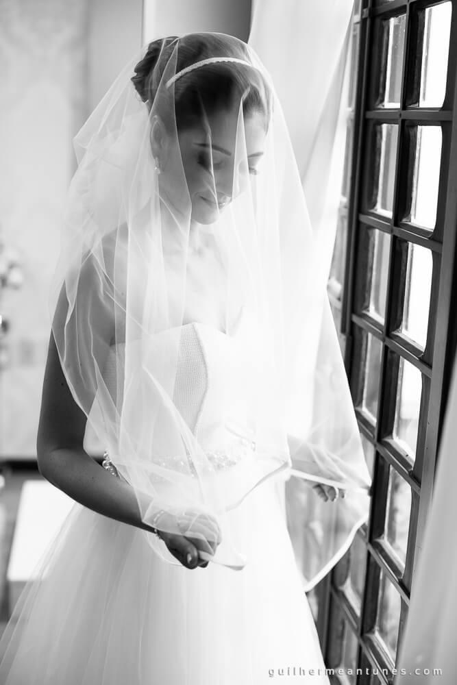 Fernanda e Charles: Fotografia de casamento em Lages (Véu)
