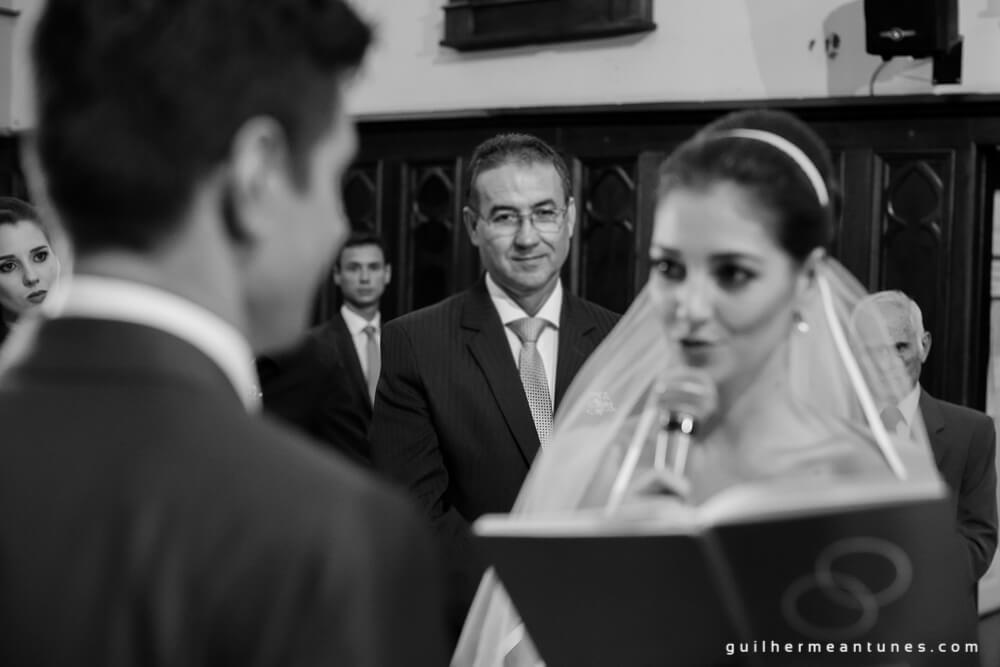 Fernanda e Charles: Fotografia de casamento em Lages (Os votos dela)